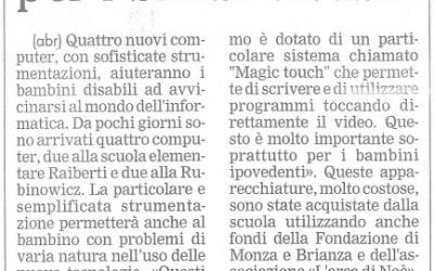 """""""Giornale di Monza"""" del 13 FEBBRAIO 2007"""