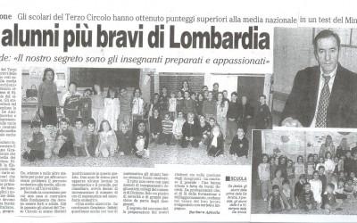 """""""Giornale di Monza"""" del 23 GENNAIO 2007"""