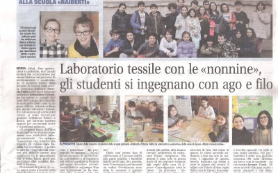 """""""Giornale di Monza"""" dell'1 marzo 2016"""